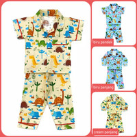 Piyama Anak Motif 1 - 8 Th Setelan Baju Tidur Anak Laki Laki/Perempuan