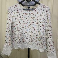 Baju atasan wanita casual preloved murah merk Bershka ORIGINAL 100%