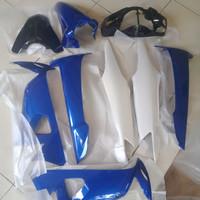Cover Full Body Halus Honda Supra Fit New Putih Biru