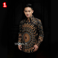Kemeja Batik Pria Murah Lengan Panjang | Baju Batik Pria 1/Kemeja Pria