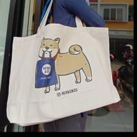 Grocery Tote Bag / Tas Belanja / Tote Bag Kanvas