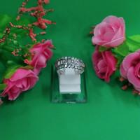 Cincin Emas Putih kadar 375 3 Gram