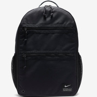 (100% ORIGINAL) Nike Utility Heat Backpack Max Air Cushion Black Tas