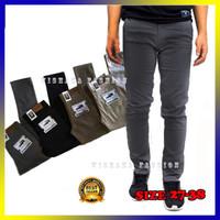 Celana Chino Panjang Pria Premium Cino Cowok Jumbo Hitam Abu Moca Krem