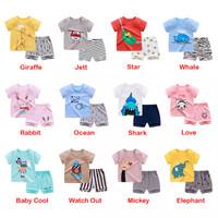 Baju Setelan Anak Comfy Totem Ukuran 73 atau 2-6 Bulan piyama bayi