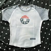 Official T-shirt Oasis - Kaos USA Tour 2000s Size M Girl Import