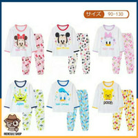 Baju Tidur/Piyama Anak Disney Impor Lengan + Celana Panjang