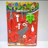 Mainan Tool Set Worker Mainan Anak Perkakas Tukang Set - BELLA SHOP - TOOL SET