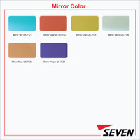 (Pengambilan Di Gudang) SEVEN ACP PE 4 mm Mirror Alloy 1100