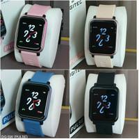 Jam Tangan Wanita Digitec Smart Watch Strap Karet PULSE Original