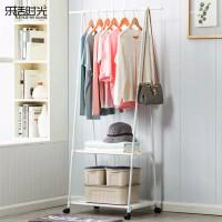 Rak Gantungan Baju Segitiga Triangle Stand Hanger Minimalis Dgn 4 Roda