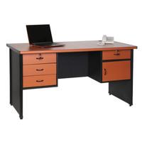 Meja kerja/ meja kantor 3/4 biro sangat murah   1475L13