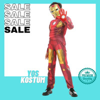 Kostum Anak Superhero Iron Man Impor Busa Otot Baju Karakter Ultah