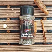 Lada Hitam Bubuk Kasar / Coarse Black Pepper Powder- SpeakPeppers BTL