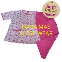 Baju Tidur AMRO CP XXL / Jumbo Label Merah Full Kancing RSCPX 5133