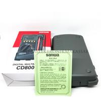 Multi Tester Avometer Multimeter Digital SANWA CD800a ORI