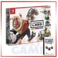 Switch Nintendo LABO Vehicle Kit (Toy-Con 03) Game + Accessories