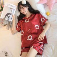Baju tidur wanita red pig / piyama wanita