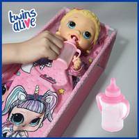 Botol Susu Plastik Aksesoris Boneka Baby ALive Mellchan