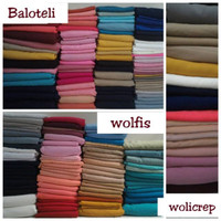 kain kiloan murah uk.1.5-3 meter (bisa pilih warna dan bahan)
