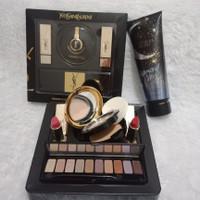 Paket Makeup / Make Up set YSL + Victoria Secret Body Lotion