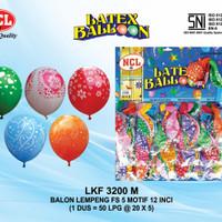 Balon Latex 5 Motif