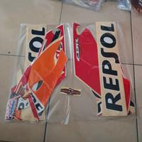 Striping CBR 150 Repsol 2015/16 Oren Putih