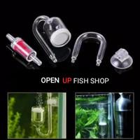 1 set Aquaspace co2 Diffuser Glass / Kaca Paket aquarium glass tube
