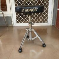 Kursi bangku drum sonor throne