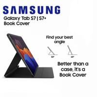 Book Cover Case Samsung Tab S7 dan Tab S7 Plus S7+ Mangnetic Autolock