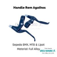 Agathos Handle rem full alloy handel aloy sepeda BMX MTB