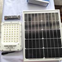 SINTE SOLAR FLOOD LIGHT 150W Lampu PJU Panel Cahaya TERANG Listrik