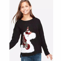 baju atasan sweatshirt unicorn Sweater justice original branded