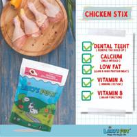 Golden ChickenStix, snack makanan Anjing