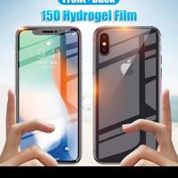 Anti Gores Hydrogel Set Depan Belakang Iphone X/XS