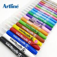 Artline Decorite Brush Pen EDF-F - BLACK