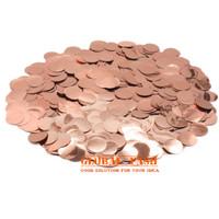 confetti isian balon rose gold / Glitter isian balon transparan