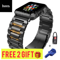 HOCO Strap Metal Stainless Steel Apple Watch 1 2 3 4 5 6Size 44mm 42mm