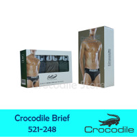 Celana Dalam Crocodile Artikel 521-248 (3 Pcs in Box)