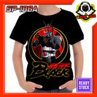 Kaos Masked Rider Black Satria Baja Hitam Kotaro mina Baju Anak Murah