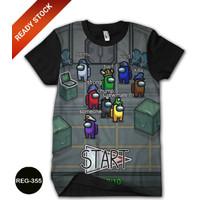 Baju Among Us Kaos Among Us Cowok Dewasa Kaos Game Trend #REG-355