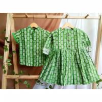 Baju Batik COUPLE ANAK cewek cowok by rayhan batik