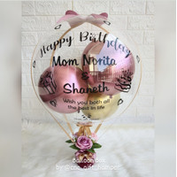 balon box / buket balon / balloon bouquet / kado balon / kado wisuda