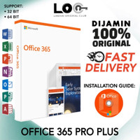 BERGARANSI!! Office 365 Pro Plus 32 & 64 Bit