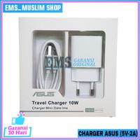 Charger Asus Zenfone Live 1 Live 2 ORIGINAL 100% Micro USB 5V 2A - Putih