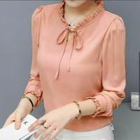 g8 - at baju blus cewek blouse wanita atasan trendy casual kekinian