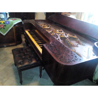 Baby Grand Piano Hornung & Moller Made in Denmark (Antik)