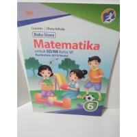 Buku siswa matematika kelas 6 SD / MI kurikulum 2013 GAP