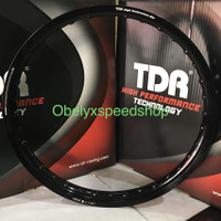 Velg TDR WX Shape 17 x 160 warna Black/Hitam