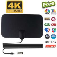 Antena TV Digital Smart Portable Indoor DVB UHF VHF 4K HDTV Full-HD